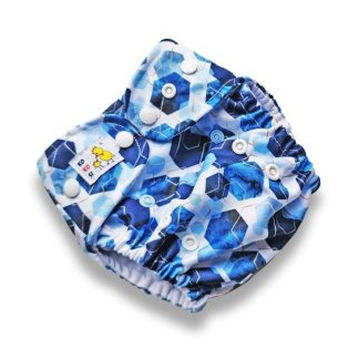 Kokosi Cloth Reusable Pocket Nappy Hexagons