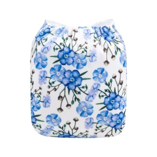 Reusable Cloth Pocket Nappy Forget-me-not