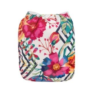 Reusable Cloth Pocket Nappy Bloom Flower