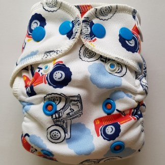 Reusable Cloth Fitted Nappy Cotton NB newborn
