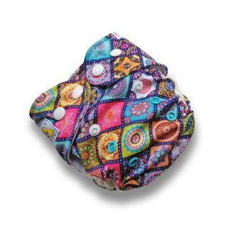 Kokosi Mossaic AIO M-OSReusable Cloth Nappy