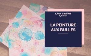 image blog kid ways peinture aux bulles