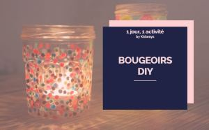 bougeoirs DIY Kidways blog