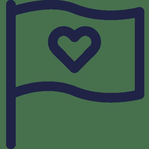 CGU Kidways - Flexibilité - Drapeau Coeur