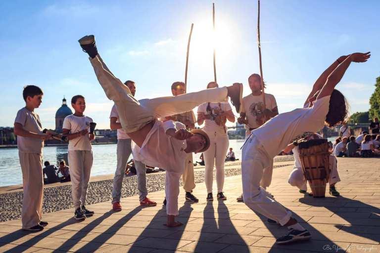 Capoeira - art martial - sport insolite