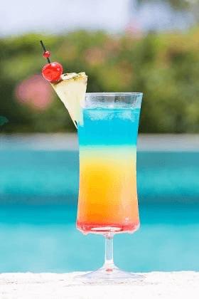 Recette cocktail arc-en-ciel
