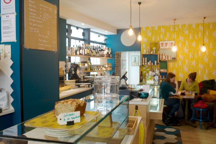 La salle du restaurant Bleu Olive