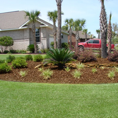 yardwise rubber lanscape mulch