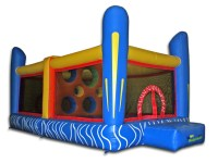Jump'n Dodgeball Commercial Inflatable Bouncer