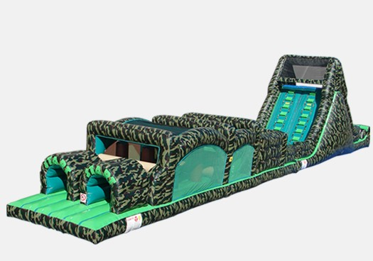 Camouflage Obstacle Course 3  Inflatable Obstacle Course