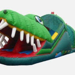Tables And Chairs Rental Price Baby Pillow Chair Happy Gator - Commercial Inflatable Obstacle Course