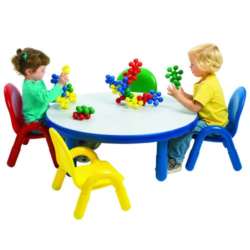 Angeles Baseline Toddler Round Table and 4 Chair Set