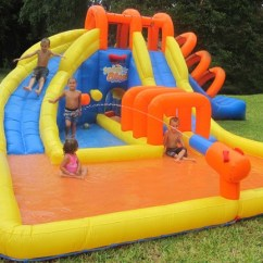 Little Tikes Chairs Bar Images Summer Blast Water Park - Inflatable Slide