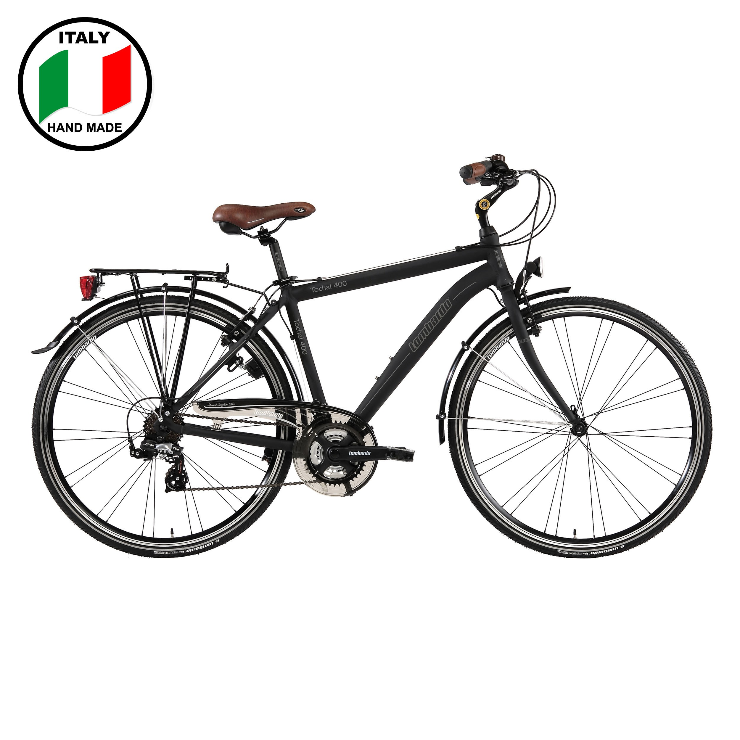 Lombardo Tochal 400 19 Inch Bike Black