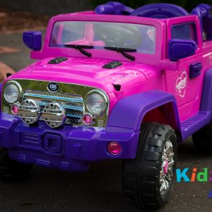 Jeep-Pink-Ride-on-Car-Front-Close