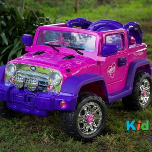 Jeep-Pink-Ride-on-Car-Front-Offroad