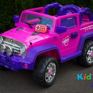 Jeep-Pink-Ride-on-Car-Front-Remote