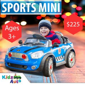 Mini Sports Blue - Ride-on Cars