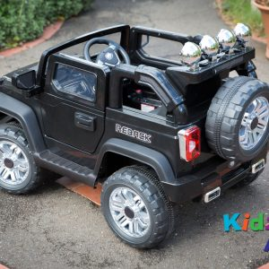 Jeep-Black-Ride-on-Car-Back-Side