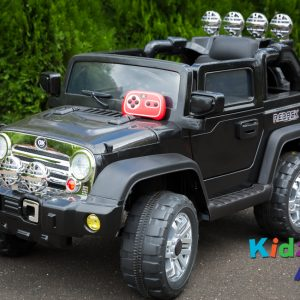 Jeep-Black-Ride-on-Car-Front-Remote