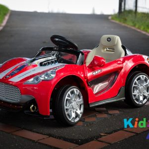Turbo-Racer-Red-Ride-on-Car-Front2