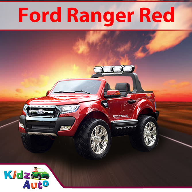 2017 Licensed Ford-Ranger Red