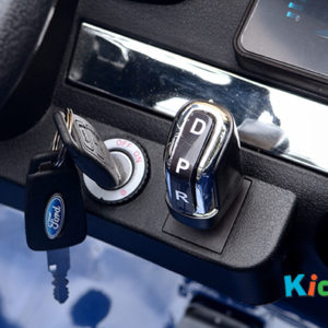 34 KA422 - 2017 Blue Ford - Dashboard - Key Start