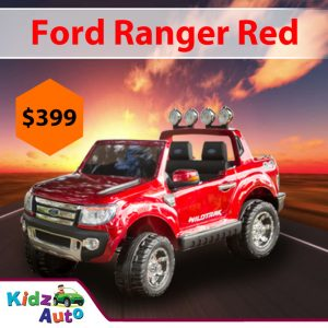 Licensed-Ford-Ranger-Red-Ride-on-Car-Feature-Image