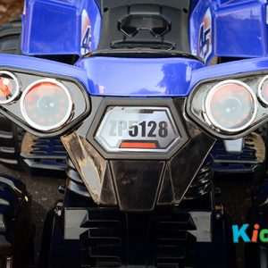 Quad-BIke-Blue-Ride-on-Bike-Back