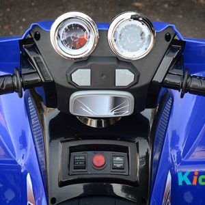 Quad-BIke-Blue-Ride-on-Bike-Steering