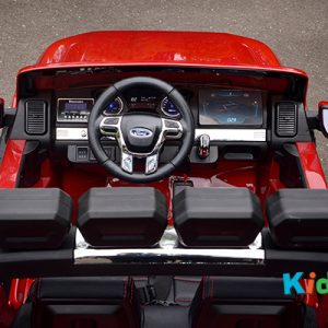 35 KA423 - 2017 Red Ford - Dashboard