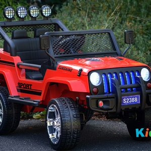 4x4-Sports-Jeep-Red-Ride-on-Car-Front-Side