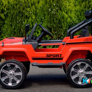 4x4-Sports-Jeep-Red-Ride-on-Car-Side