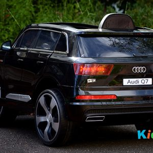 Audi-Q7-Black-Ride-on-Car-Back-Side