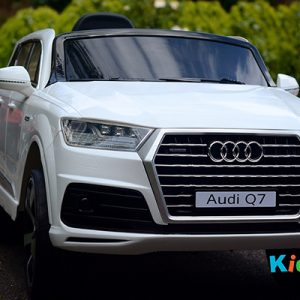 Audi-Q7-White-Ride-on-Car-Front