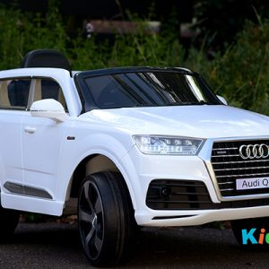 Audi-Q7-White-Ride-on-Car-Front-Side