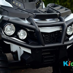 ATV-White-Ride-on-Bike-Front-Grill