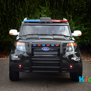 Kidz Auto Ride On Police Car - Front