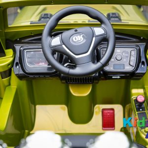 Jeep-Green-Ride-on-Car-Dashboard
