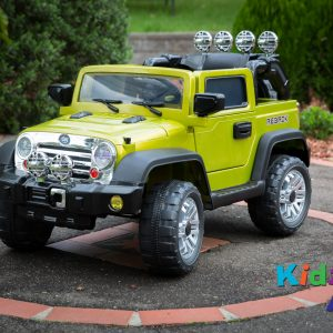 Jeep-Green-Ride-on-Car-Front-Side-1