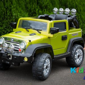 Jeep-Green-Ride-on-Car-Front-Side