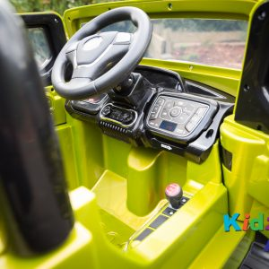 Jeep-Green-Ride-on-Car-Inside