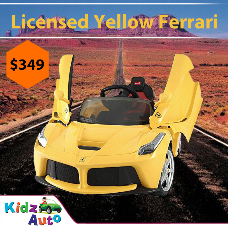Licensed Le Ferrari (Yellow)