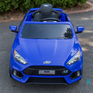 Licensed Ford Focus - Blue - Front