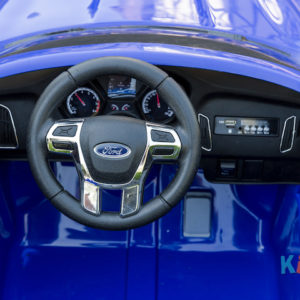 Licensed Ford Focus - Blue - Steering Wheel