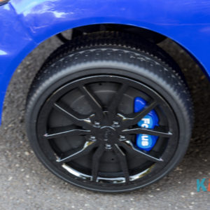 Licensed Ford Focus - Blue - Wheels