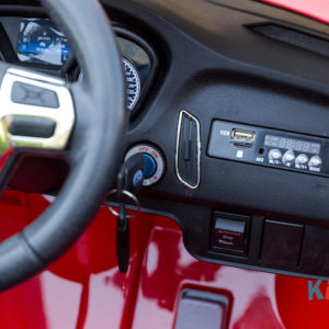 Licensed Ford Focus - Red - Dashboard 1