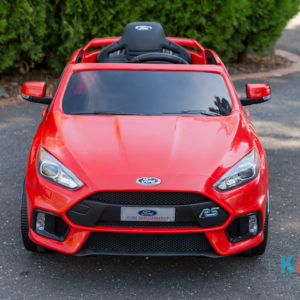 Licensed Ford Focus - Red - Front