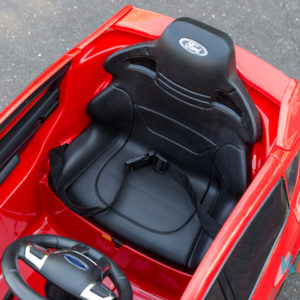 Licensed Ford Focus - Red - Seat