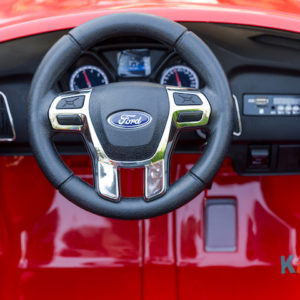 Licensed Ford Focus - Red - Steering Wheel